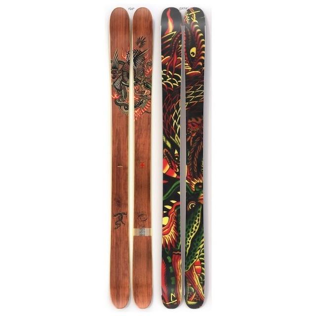 J skis - バケーション「バトル・ロイヤル」Prof. York x Jコラボ限定版スキー 173cm