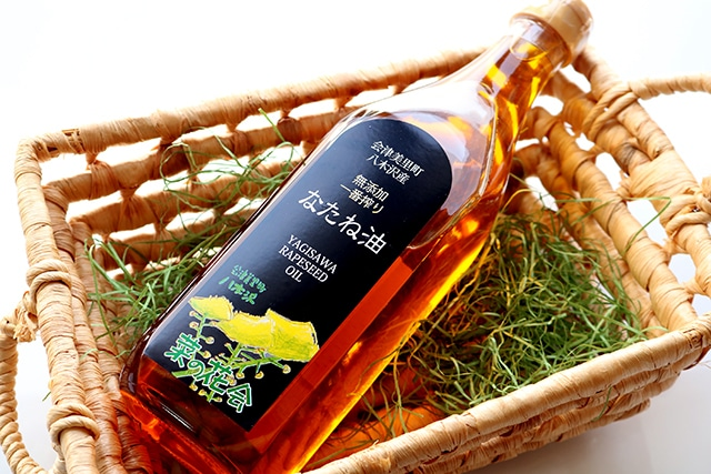会津美里産なたね油 大瓶(送料無料)