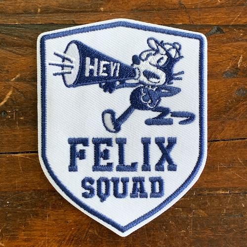 [FELIX]フィリックス 刺繍ワッペン・パッチ・アイロン糊付き・クラシック(D)スクアッド