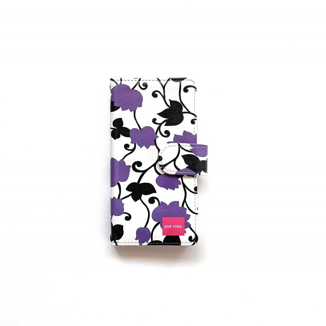 北欧デザイン Android対応手帳型マルチケース    matthew purple