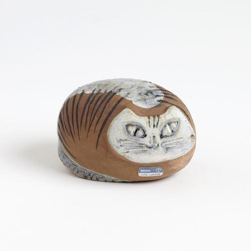 Gustavsberg グスタフスベリ Lisa Larson リサ ラーソン Liggande katt 丸まり猫-4 北欧ヴィンテージ