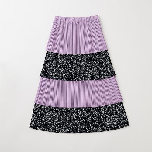 J_O×FUMIE TANAKA プリーツスカート【パープル】
