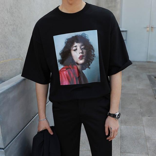 フォトプリントTシャツ YH4265