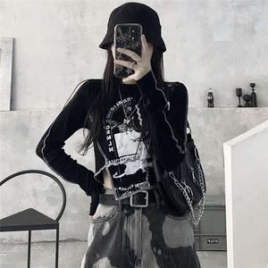 【トップス】ファッションINS風スリム個性派Tシャツ52244749