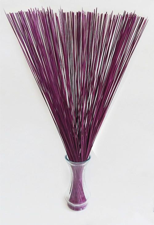 【イ草フラワー パープル】Rush Grass Flower Purple 70cm