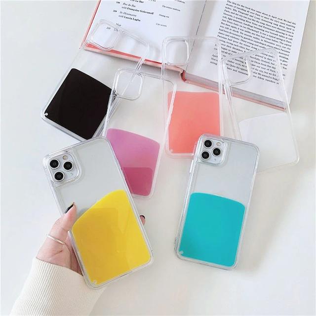 流れる♪ Color liquid iphone case