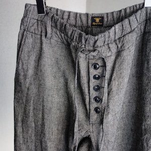 da farmers frontbutton easypants / lightgrey