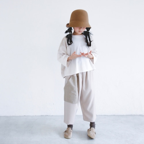 《michirico 2021AW》Boa Pullover / ivory / L・XL・XXL
