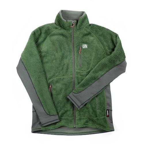 UN3400 High Loft fleece jacket / Green