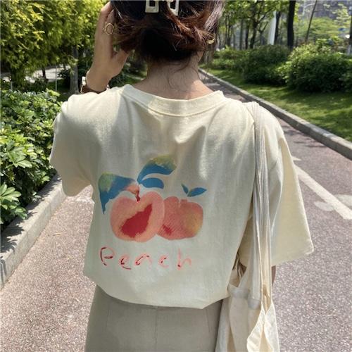 PEACH Tシャツ U5422