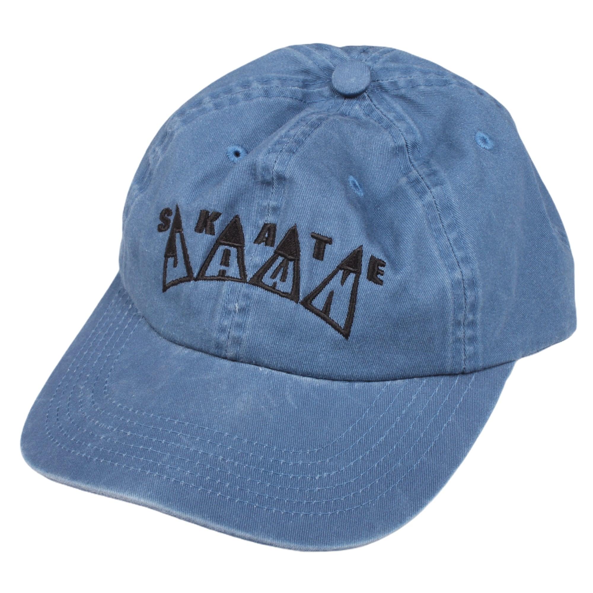 SKATE JAWN  【KING EMB 6 PANEL HAT BLUE】