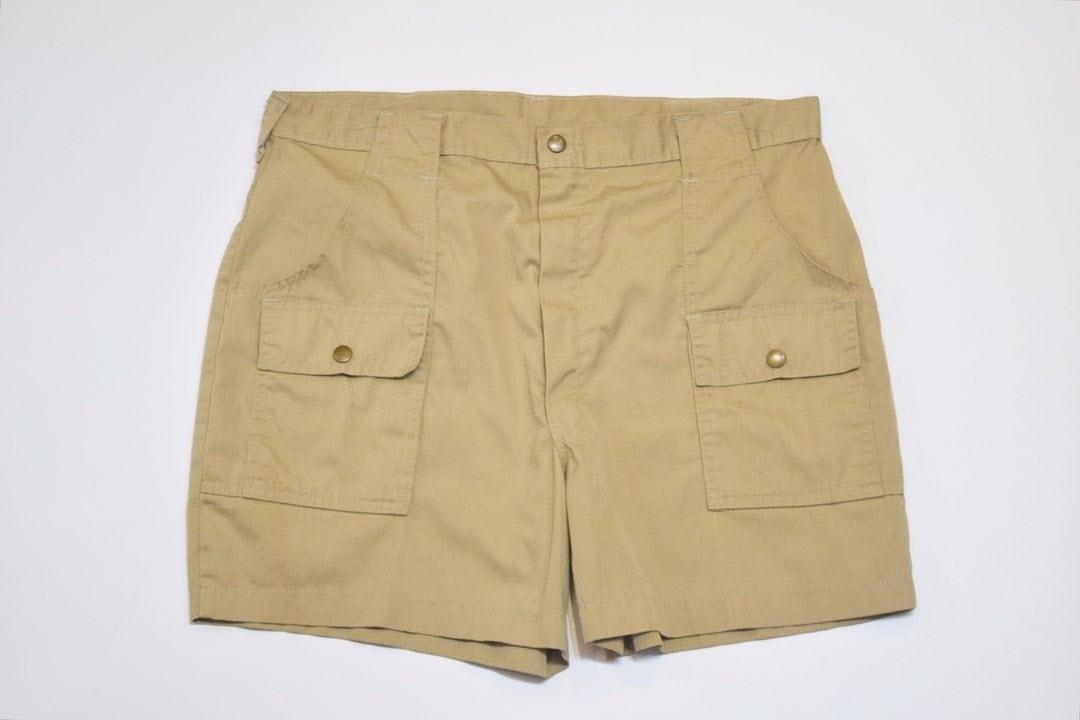 USED 80s Woolrich Bush Shorts -W36 01118