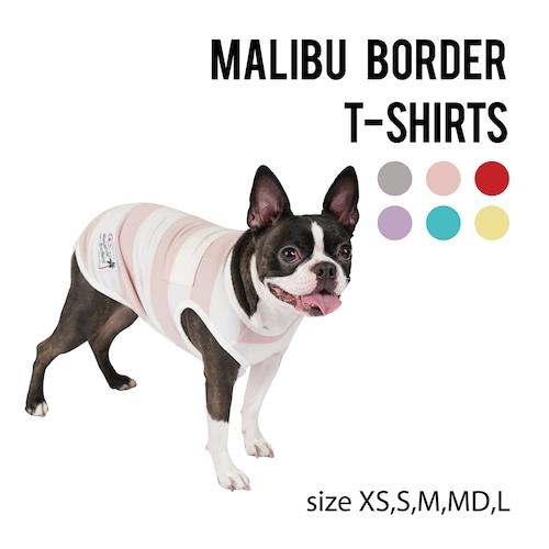 【SALE】MALIBU BORDER T-SHIRTS(XS~L) マリブボーダーTシャツ
