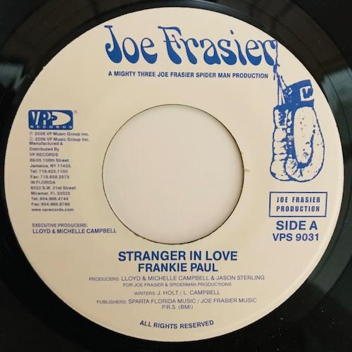 Frankie Paul - Stranger In Love【7-10976】