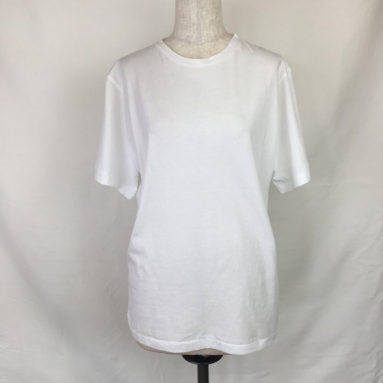 クルーTシャツ(ホワイト)