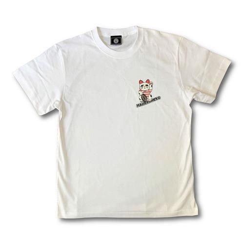 MANEKINEKO RUGBY T-Shirt White