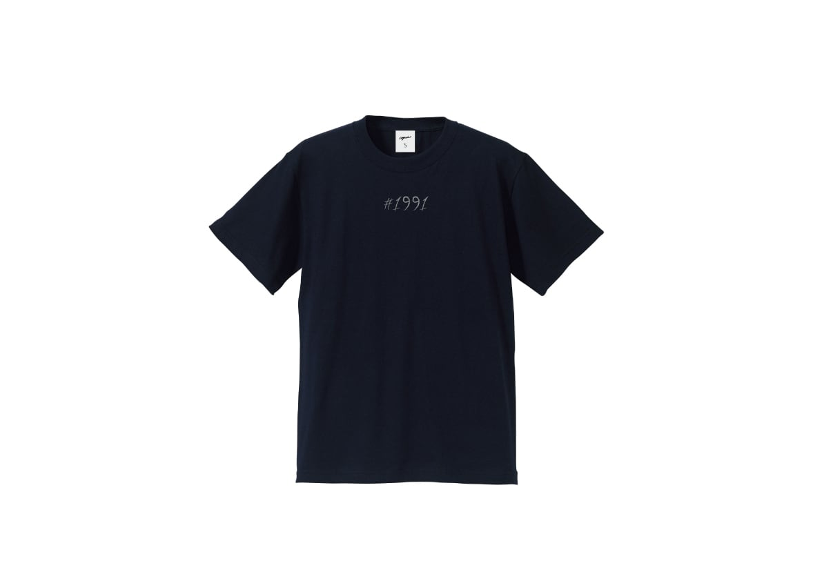 1991 T-shirt(nvy/gry)