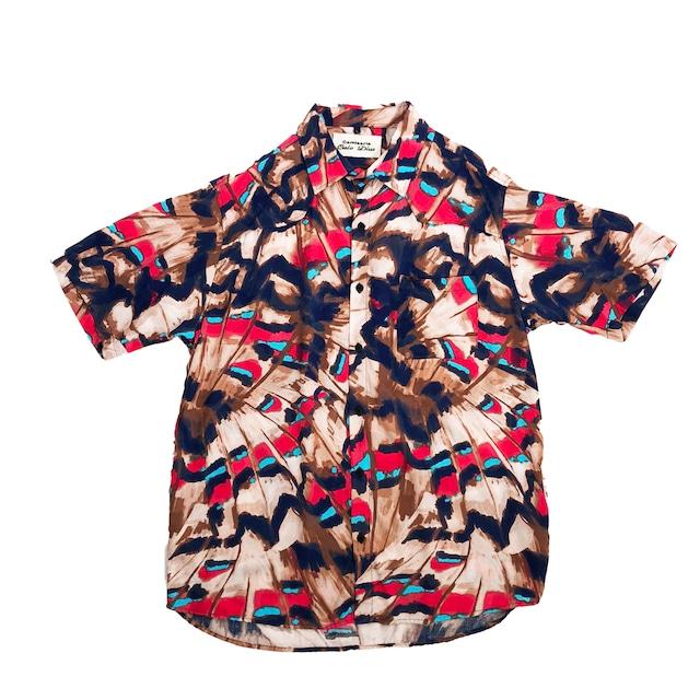 Caio Dias_Viscose Print Shirt:Indian