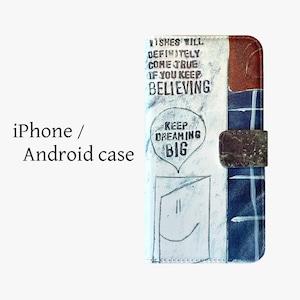 【受注生産】iPhone / Android 手帳型スマートフォンケース OD-SPC-029