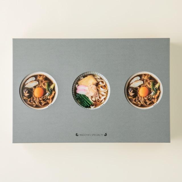 麺類詰め合わせ  3箱入(きしめん・みそ煮込×2)