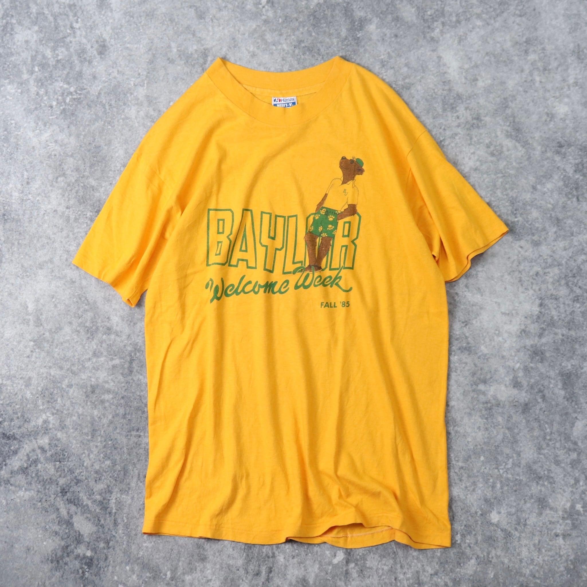 80年代 USA製 Hanes アニマルTシャツ 古着 A109