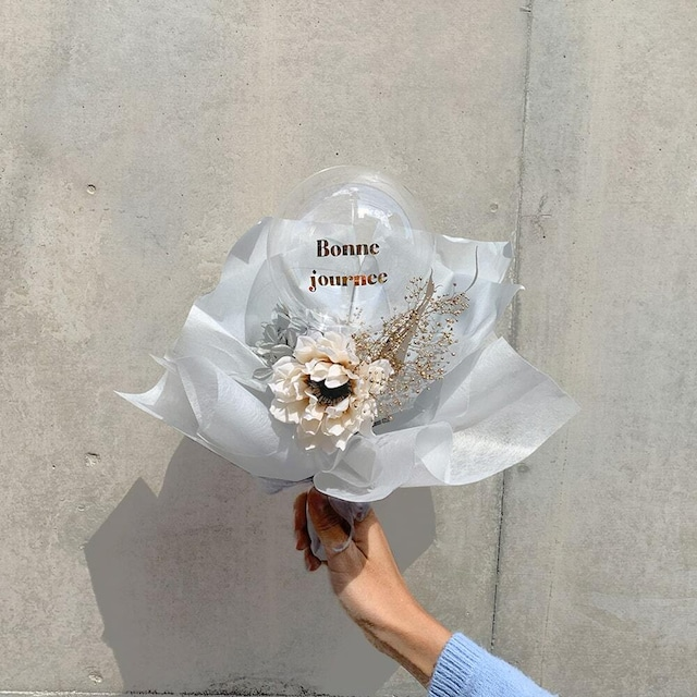 BALLOON FLOWER BOUQUET MINI - tacoma -