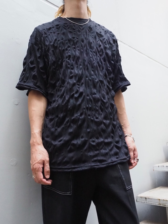 【UNISEX - 1 size】WRINKLE TEE / Black