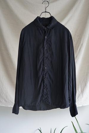 Chez VIDALENC - Shirt stockholm (dark navy)