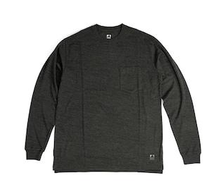 SV Wool Tee Long Sleeve [Charcoal Grey]