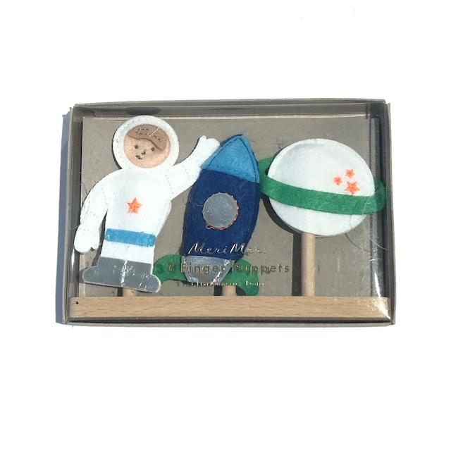 meri meri / メリメリ - 3 finger puppets SPACE 宇宙飛行士 指人形