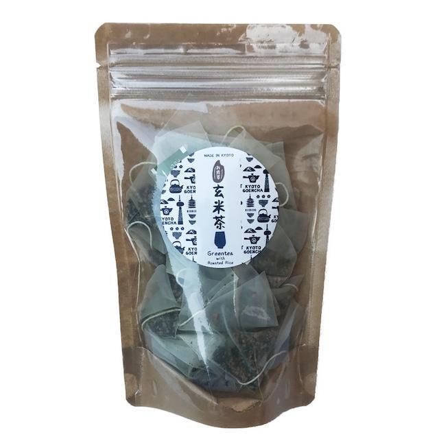 抹茶入煎茶玄米茶 ティーバッグタイプ(15包入)