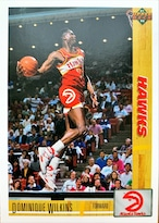 NBAカード 91-92UPPERDECK Dominique Wilkins #255 HAWKS