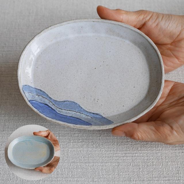 リターン③ 楕円皿×1枚 ※商品説明欄に記載のクラウドファンディングサイトよりご購入下さい