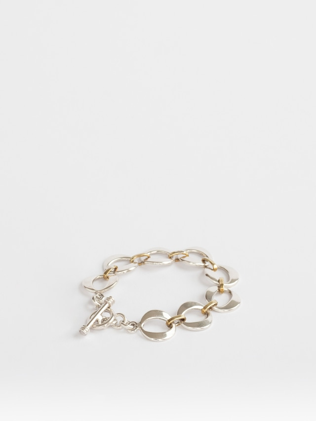 Brass Combinatin Bracelet / Mexico