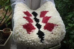 ◆【ノッティング・手織りの椅子敷き】(大) ◆NEW!    #20210603