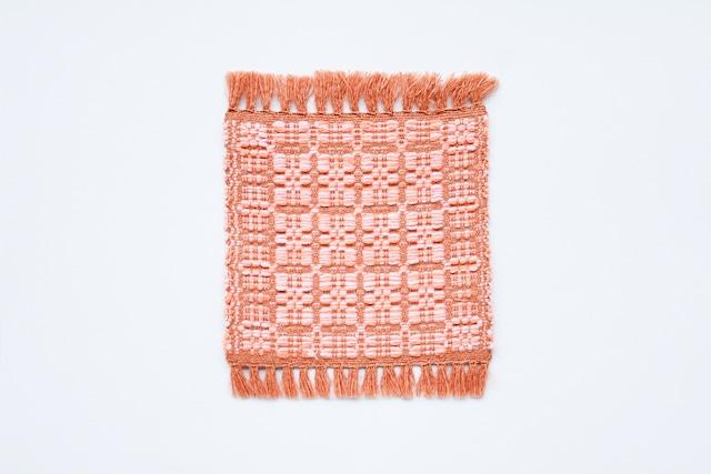 佐野地織の敷もの・紋織り
