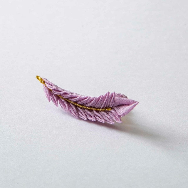 【Color Feather】Pin brooch 【カラーフェザー】ピンブローチ