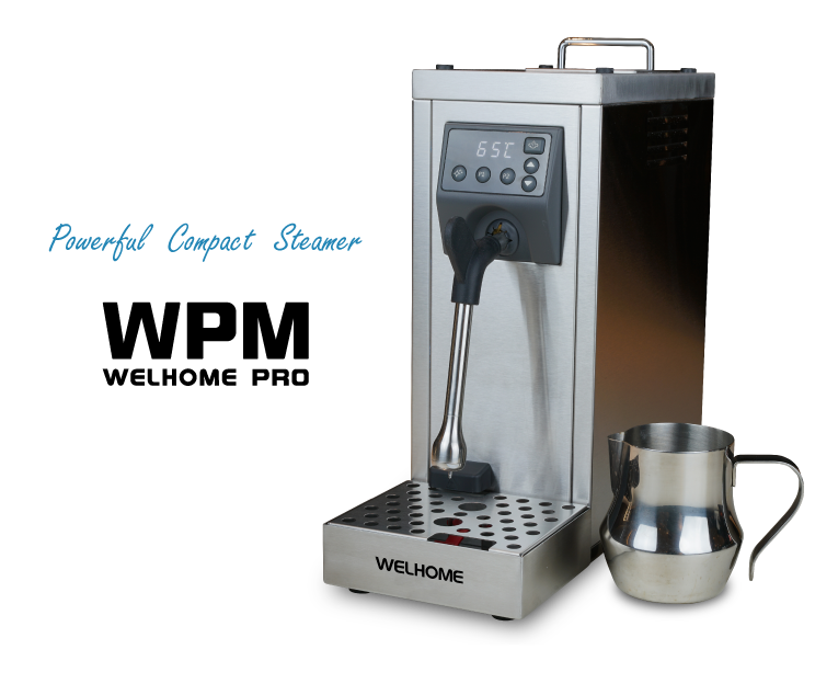 お取り寄せ品 WPM Milk Steamer MS-130T [パワフル小型自動スチーマー] ミルクピッチャー・スケール除去剤セット 国内正規代理店お取り寄せ