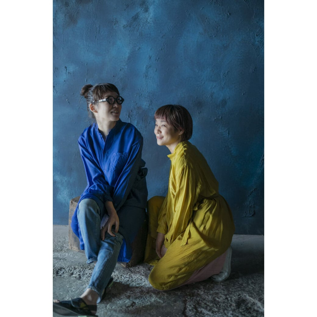 【hippiness × Sakurako.】cupro workdress(mustard)/ 【ヒッピネス × サクラコ.】キュプラ ワークドレス( マスタード)
