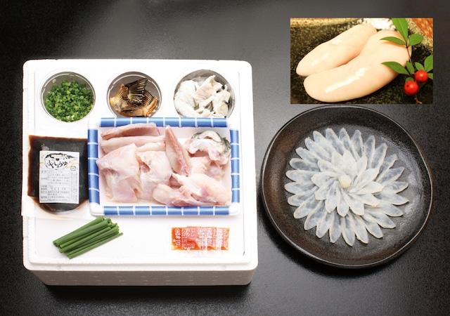 白子付豊後とらふぐ料理セット(養殖2~3人前・白子付)【冷凍・送料無料】
