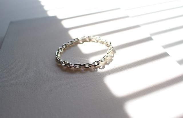 Vo.02 【TOUGH】× chain bracelet  × 925silver