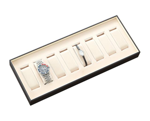 腕時計8本収納トレイ C輪金付き 5500シリーズ AR-5500W
