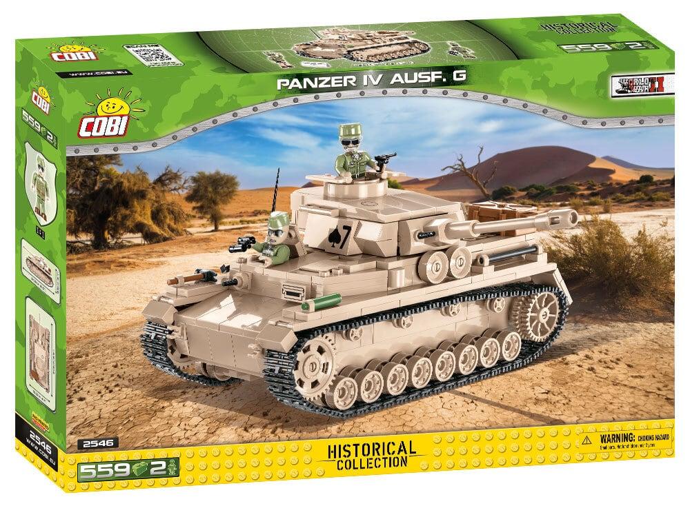 COBI #2546 IV号中戦車 Ausf.G
