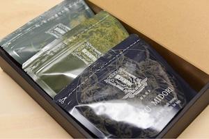 八女茶 ティーパック3種箱セット 96g(4gx8x3袋)