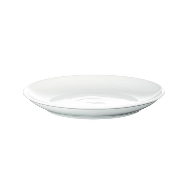 西海陶器 波佐見焼 「コモン」 プレート 皿 180mm ホワイト 13206
