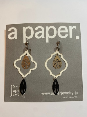 【Paper Jewely】シェイド/イヤリング