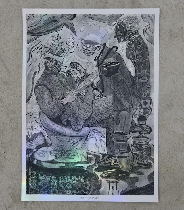 """ ARTISTS "" SIZE : A3(297mm x 420mm)"
