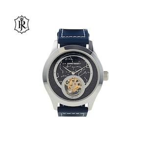 JOHNNYROGER メンズ 腕時計 フライングトゥールビヨン 星空 Tourbillon Himmel