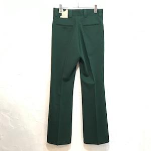 【DEADSTOCK】70's Vintage Levis Panatela Knit Slacks パナテラ グリーン W31 L32 フレアパンツ