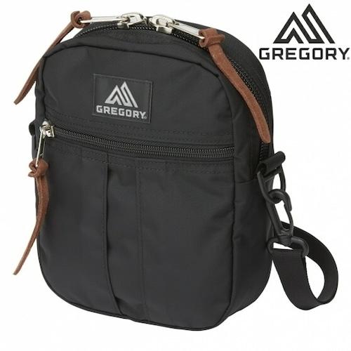 グレゴリー ショルダーバッグ クイックポケット L GREGORY CLASSIC QUICKPOCKET L ブラック 125415